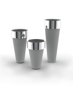Circo High Design Stainless Steel Custom Planters