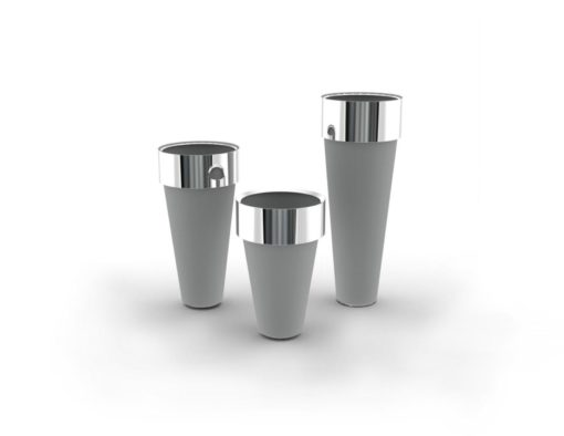 Circo High Design Stainless Steel Custom Planters
