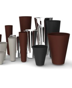 Cone Custom Stainless Steel Planters
