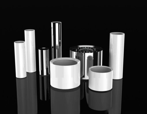 Cylinder Custom Stainless Steel Flower Pot Planters