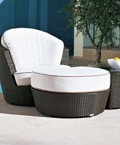 Eden Roc Swivel Club Chair by Rausch