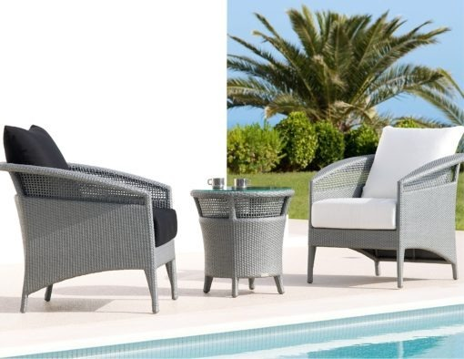 florida shell island rausch classics international couture outdoor wicker club chair hotel contract furniture silver grey