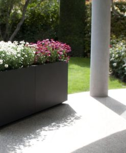 Divider Wall Custom Stainless Steel Planter