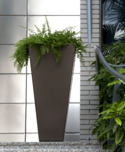 Tapered Stainless Steel Custom Planter