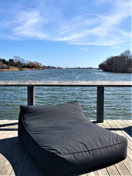 Beanbag Double Chaise Lounge Daybed Sun bed Sectional Sofa lux urban trend modern beach farm house hamptons california hotel commercial contract furniture 2