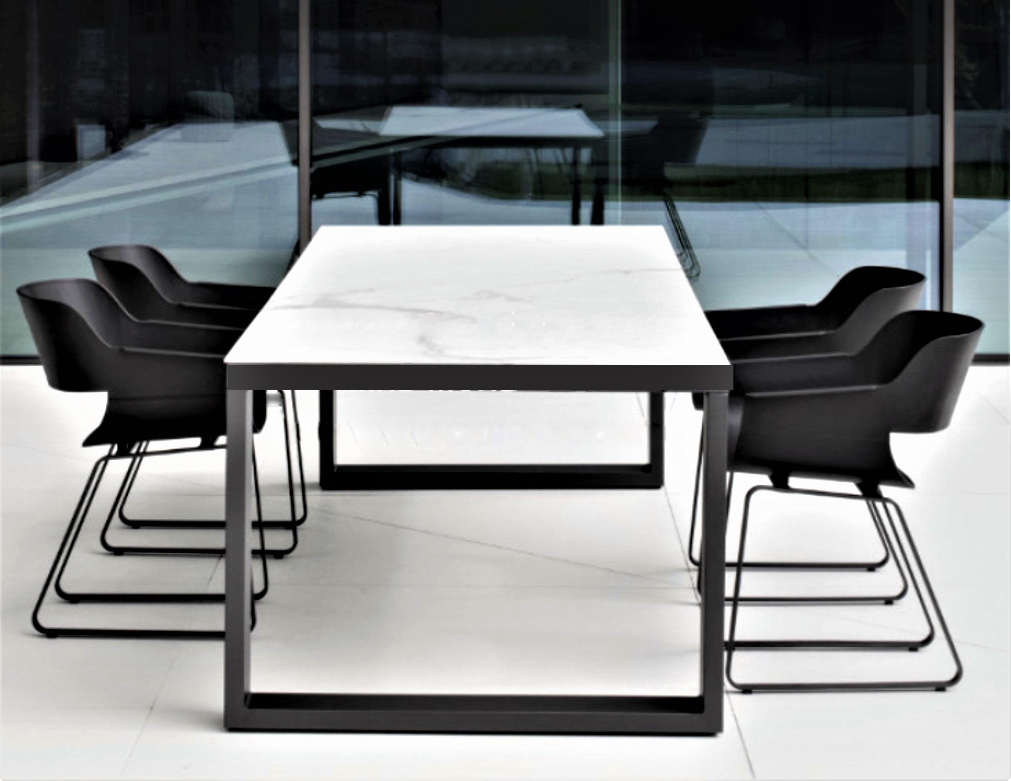Cool Abonne Carrara Ceramic Extendable Dining Table Metro Short Links Chair Design For Home Short Linksinfo