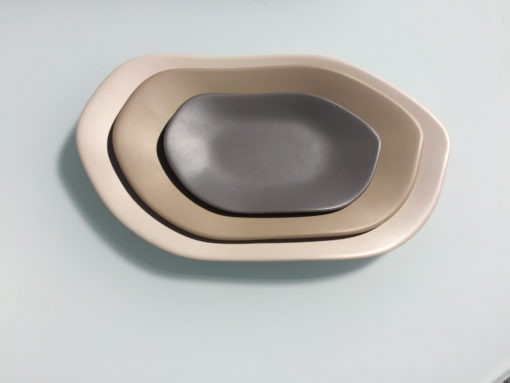 Melamine Stone Platters Small Medium Large Outdoor Dining Couture Outdoor