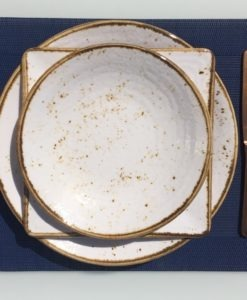 speckled plates