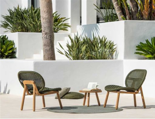 abi teak modern rope weave outdoor chair seating design trending 2020 hotel hospitality contract home palm beach miami california