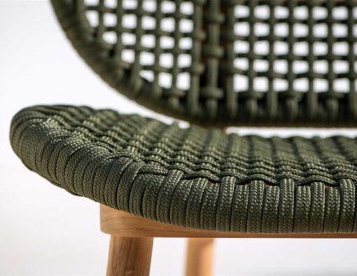 abi teak modern rope weave outdoor sofa seating design trending 2020 hotel hospitality contract home palm beach miami california